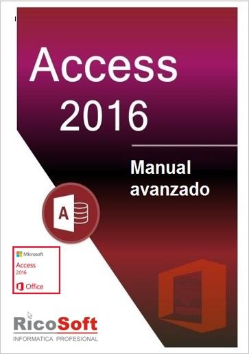 Manual avanzado de Access 2016