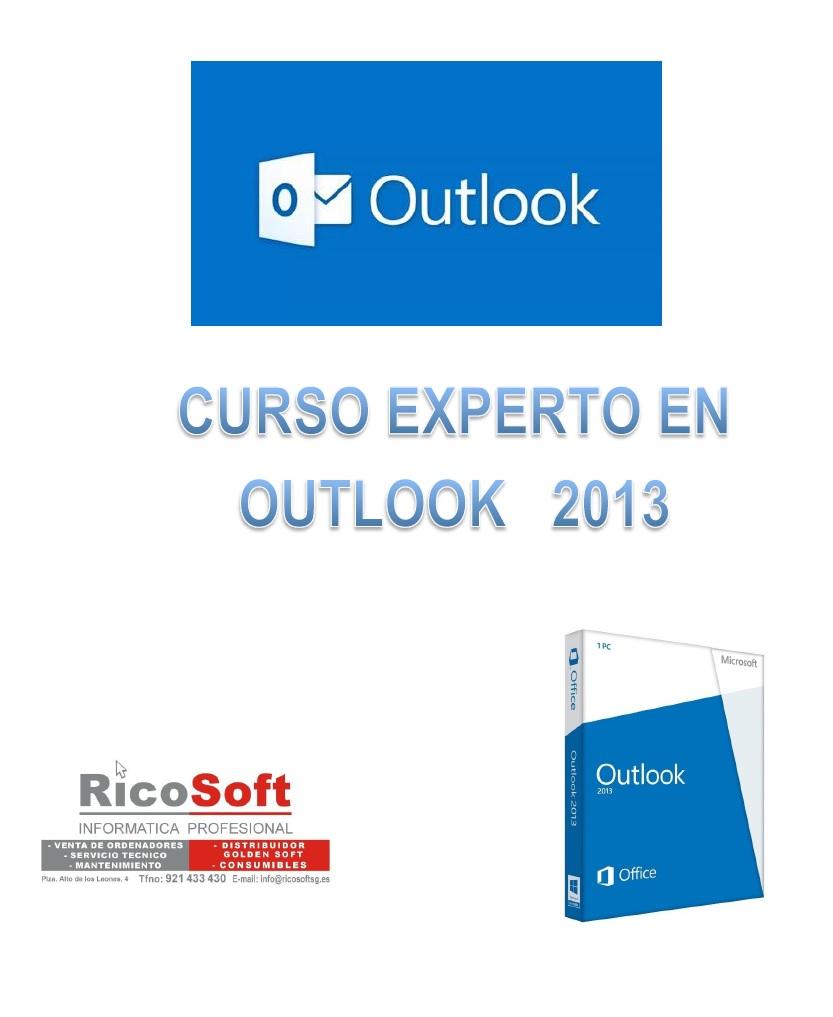 Curso Experto en Outlook 2013