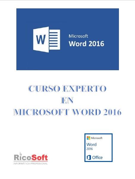 Curso Experto en Word 2016