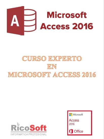 Curso Experto en Access 2016