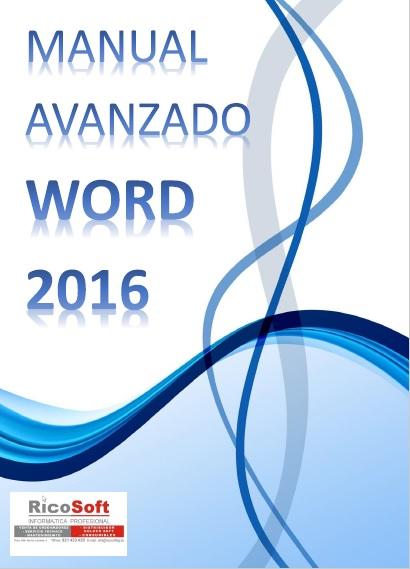 Manual avanzado de Word 2016